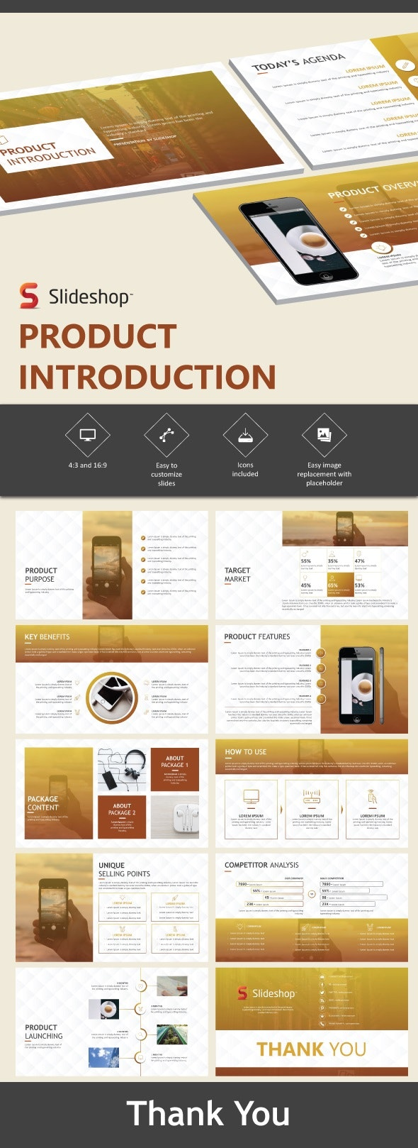 Product Introduction - Presentation Templates