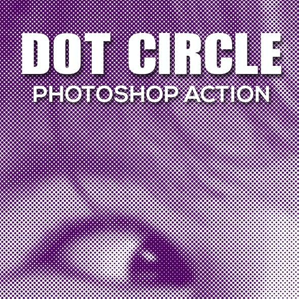 Dot Circle Photoshop Action