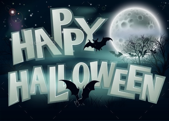 Happy Halloween Background - Miscellaneous Seasons/Holidays