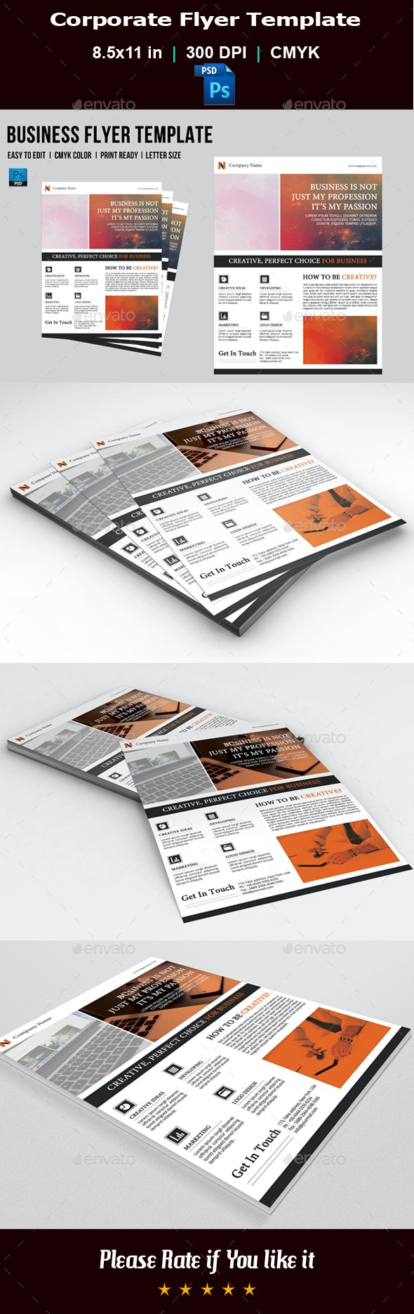Corporate Flyer V05 - Corporate Flyers