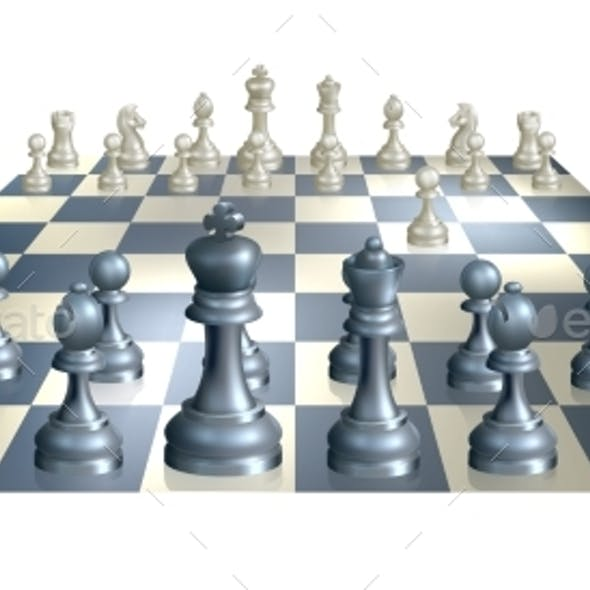 Game of Chess Illustration