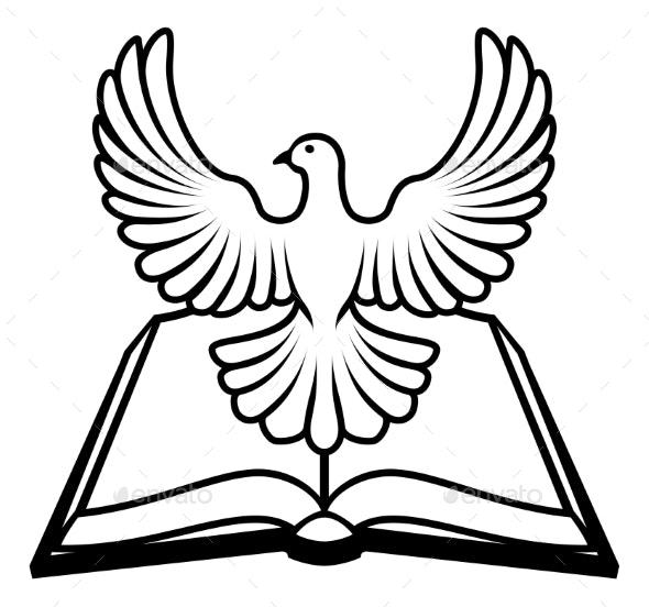 Bible Holy Spirit Concept - Religion Conceptual