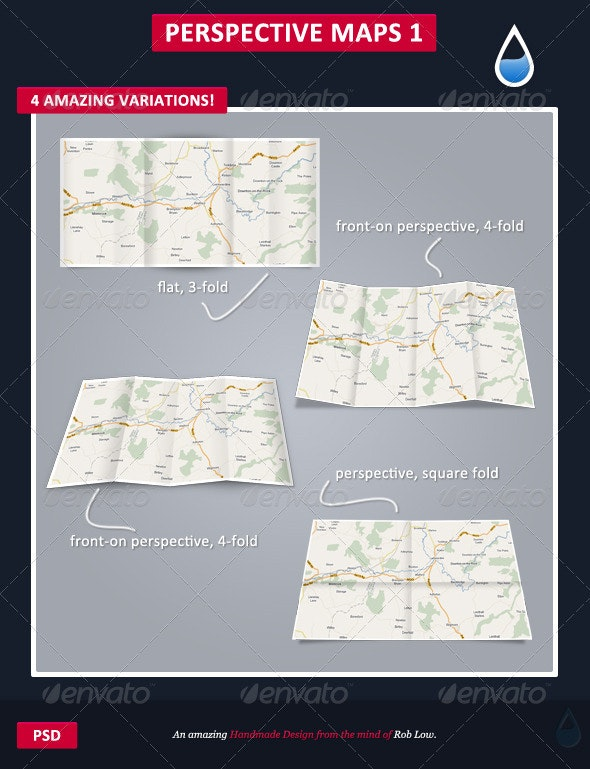 Perspective Map's - 3D Backgrounds