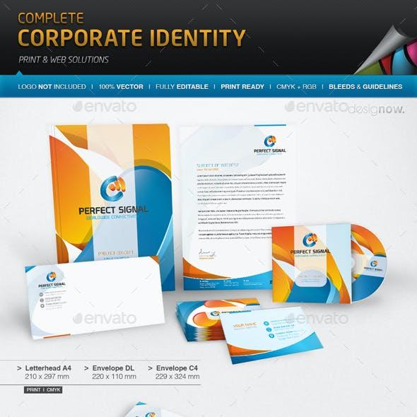 Corporate Identity - Perfect Signal