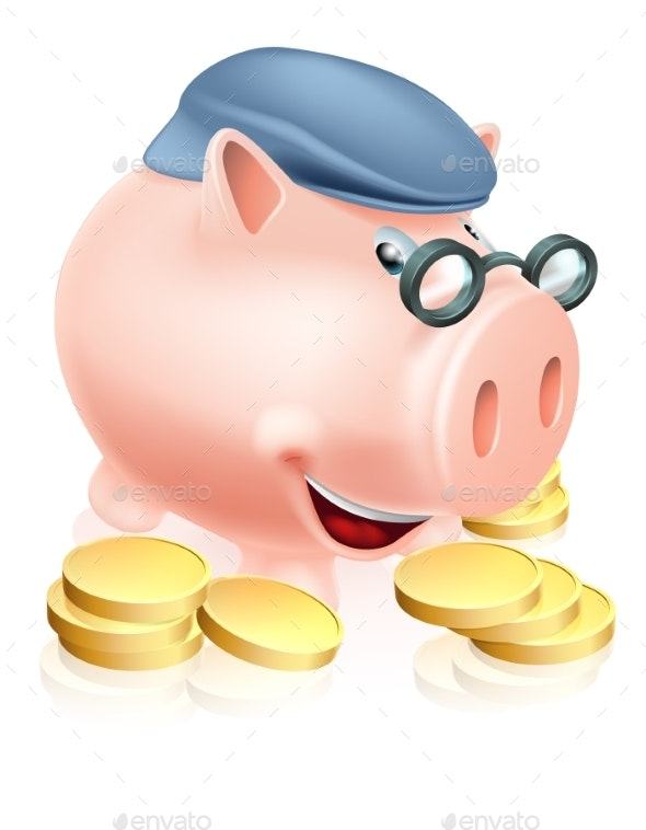 Pensioner Savings Concept - Concepts Business