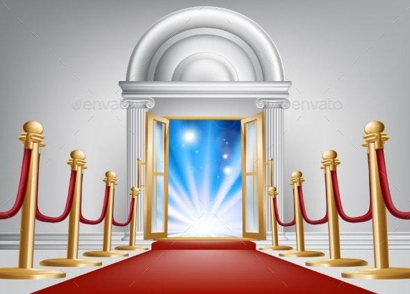 Red Carpet Entrance - Miscellaneous Seasons/Holidays