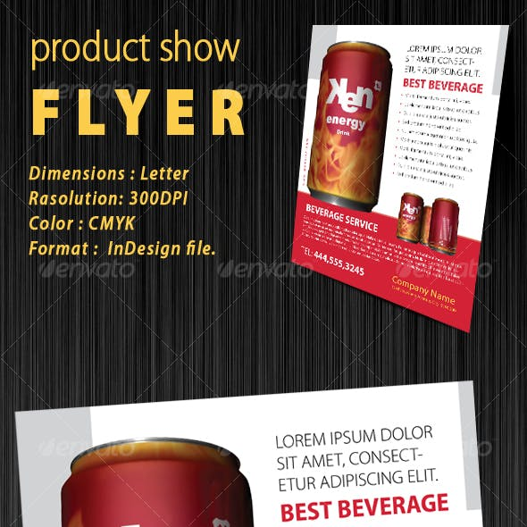 Product Show Flyer