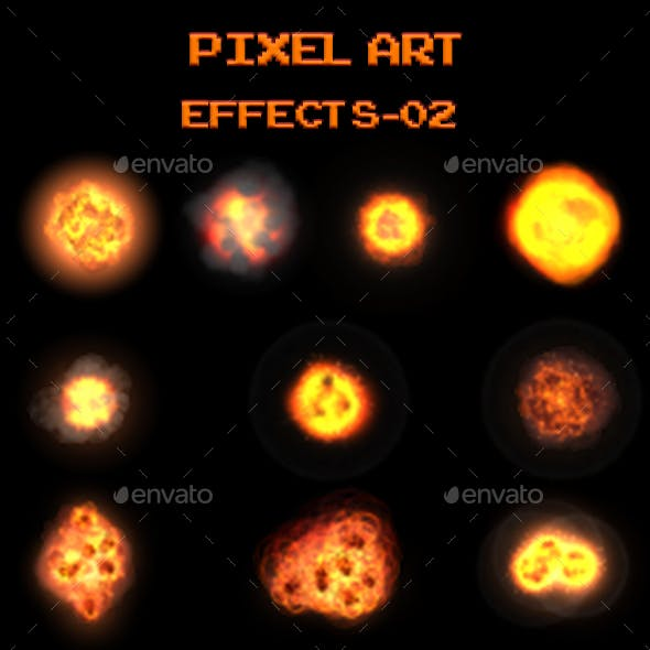 Pixel Art Effects 02