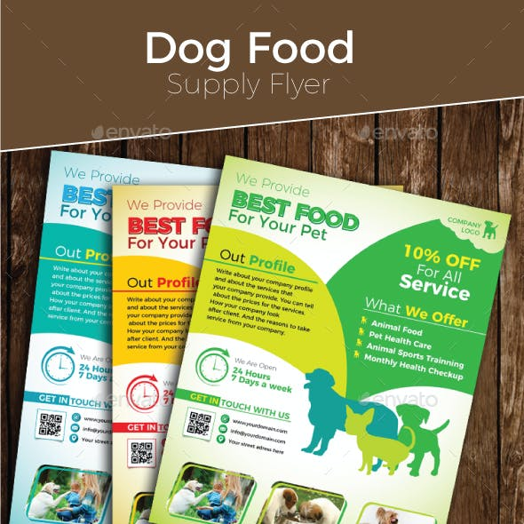 Dog Food Supply Flyer