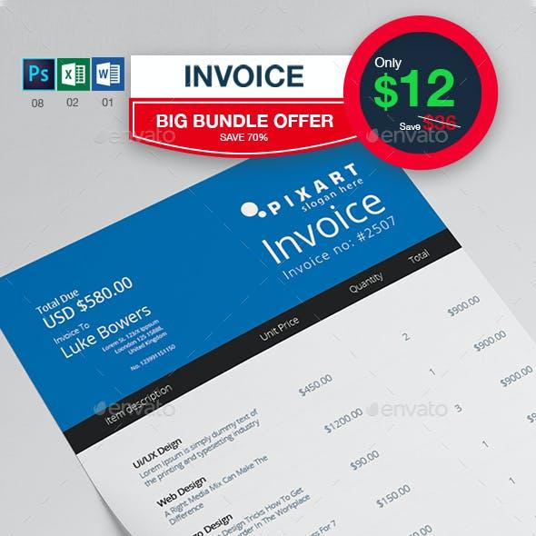 8 Invoice Bundle Offer