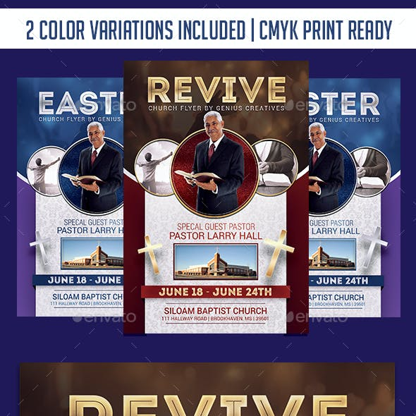 Revive Church Flyer