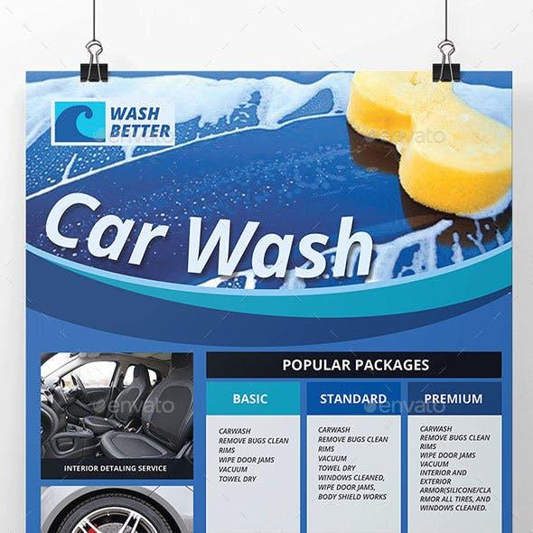 Car Wash Services Flyer