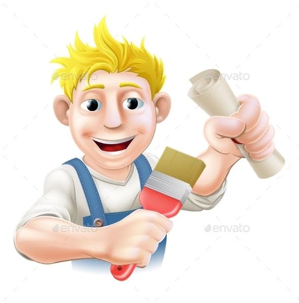 Qualified Painter Decorator - Miscellaneous Vectors