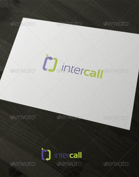 Inter Call - Vector Abstract