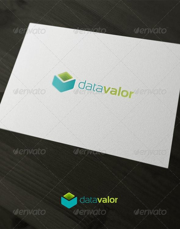 Data Valor - Abstract Logo Templates