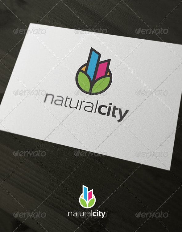 Natural City - Objects Logo Templates