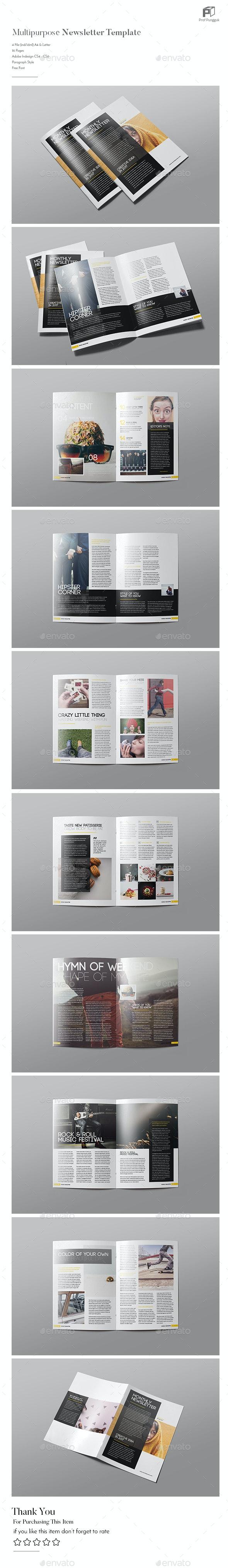 Multipurpose Newsletter  Vol.4