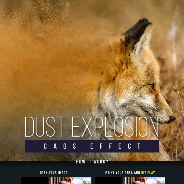 Dust Explosion Caos Effect
