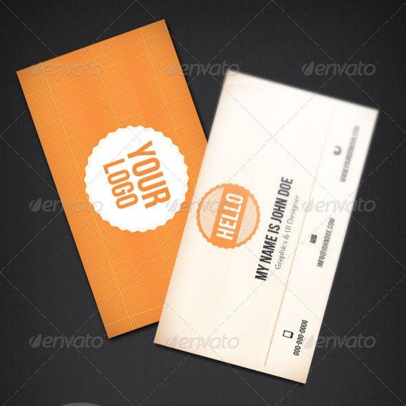 Minimal & Clean Business Card