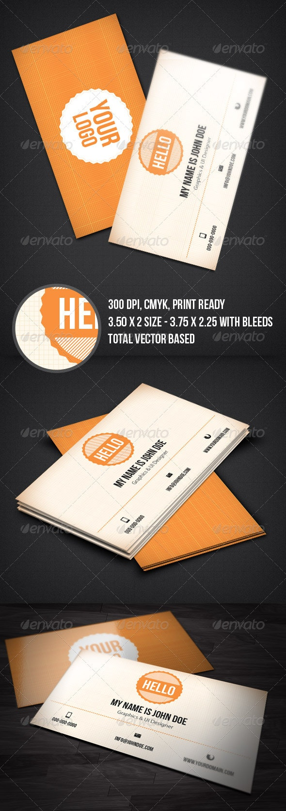 Minimal & Clean Business Card - Creative Business Cards