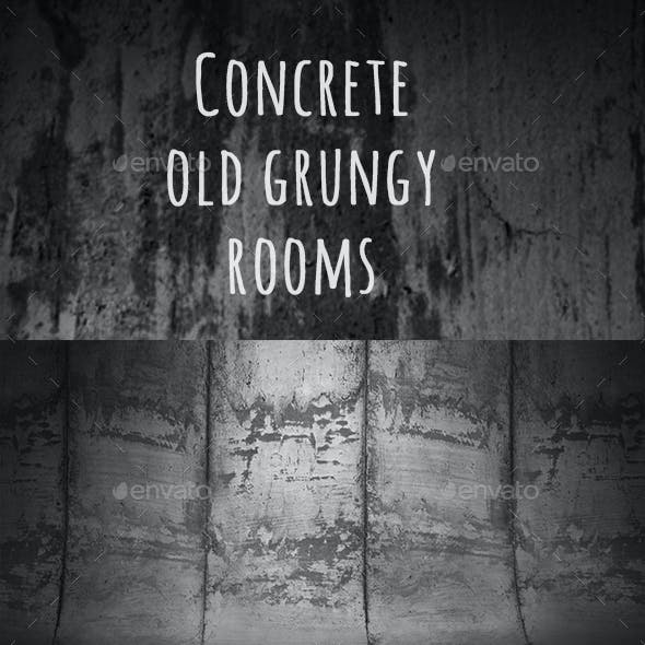 Old Concrete Rooms