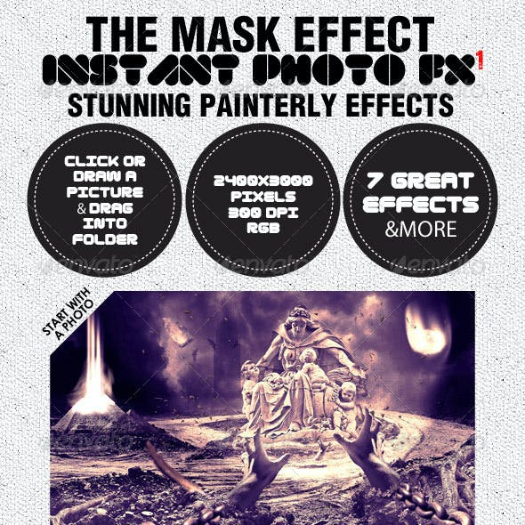 Photo-Fx-Auto Mask - Stunning Photo Effects