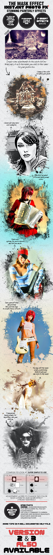 Photo-Fx-Auto Mask - Stunning Photo Effects - Photo Templates Graphics