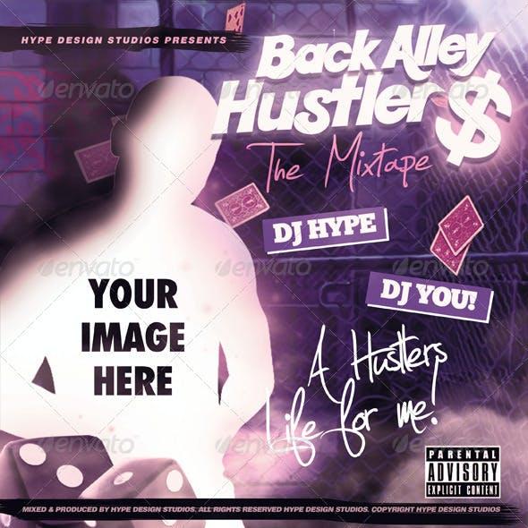 Back Alley Hustler Mixtape or Flyer Template