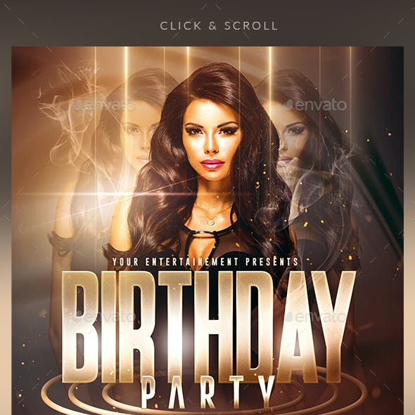 Birthday Party | Psd Flyer Templates