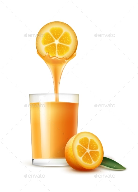 Kumquat Juice - Food Objects