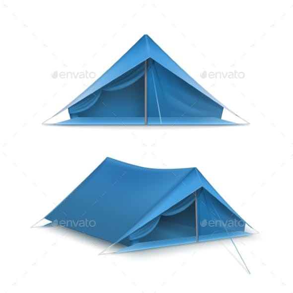 Vector Set of Tents