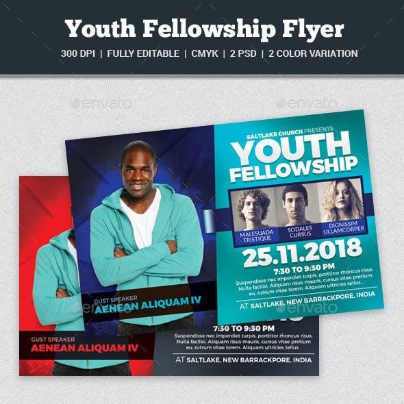 Youth Fellowship Church Flyer
