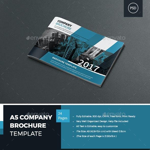 A5 Company Profile Brochure