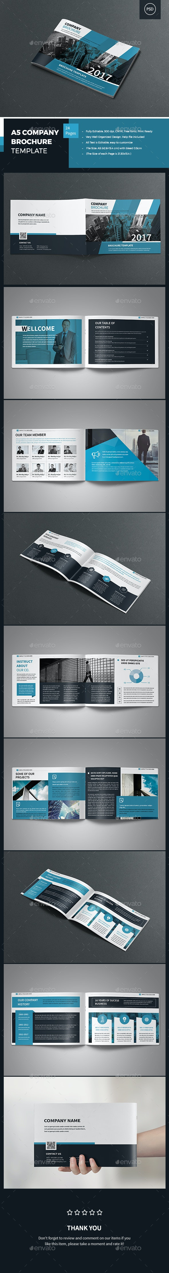 A5 Company Profile Brochure - Corporate Brochures