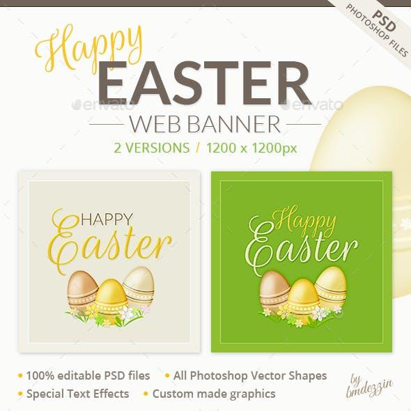 Easter Web Banner