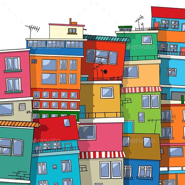 Vector favela, Brasil - Vectors