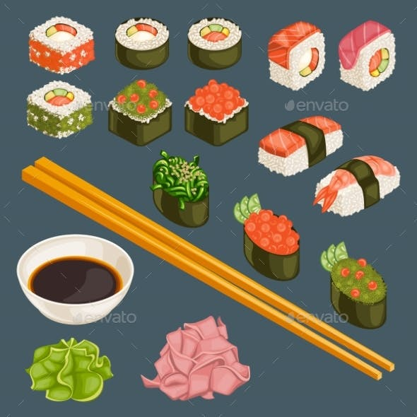 Japanese Food Collection