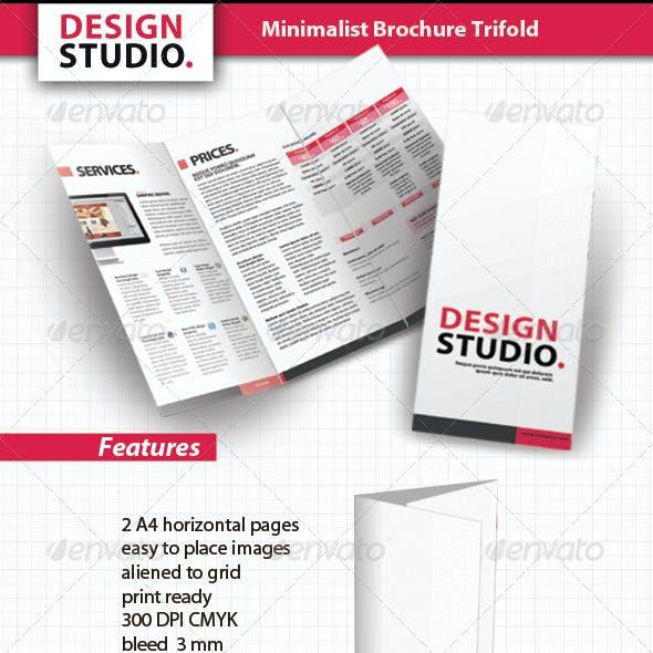 Minimalist Brochure Trifold