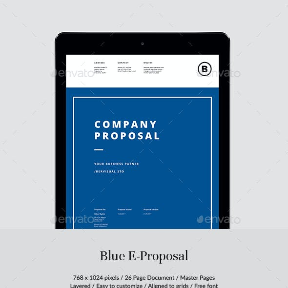 Blue E-Proposal