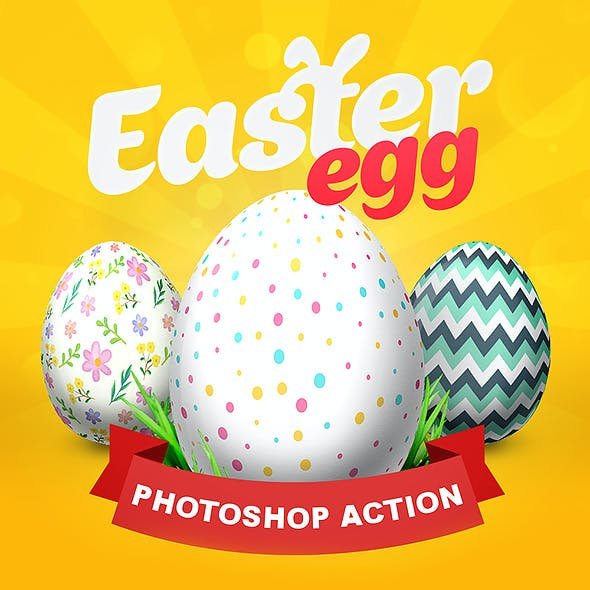 Easter Egg - Photoshop Action
