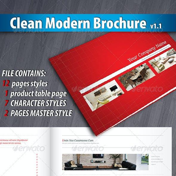 Clean Modern Brochure