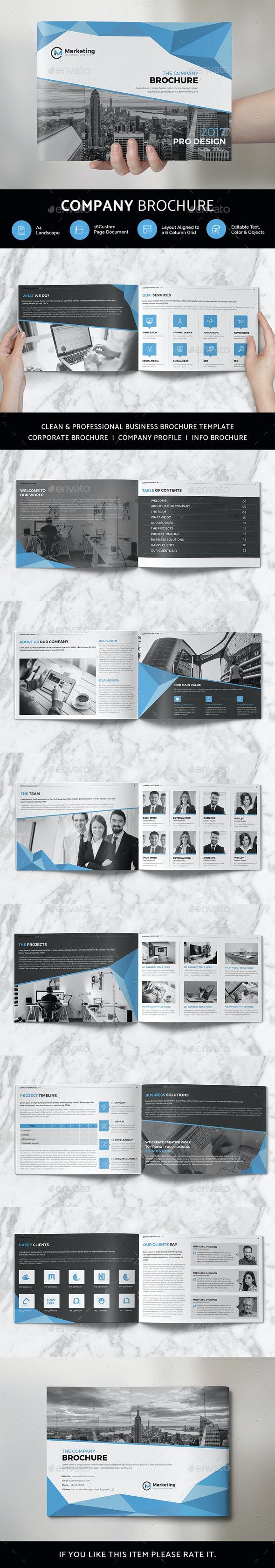 Company Brochure - Print Templates