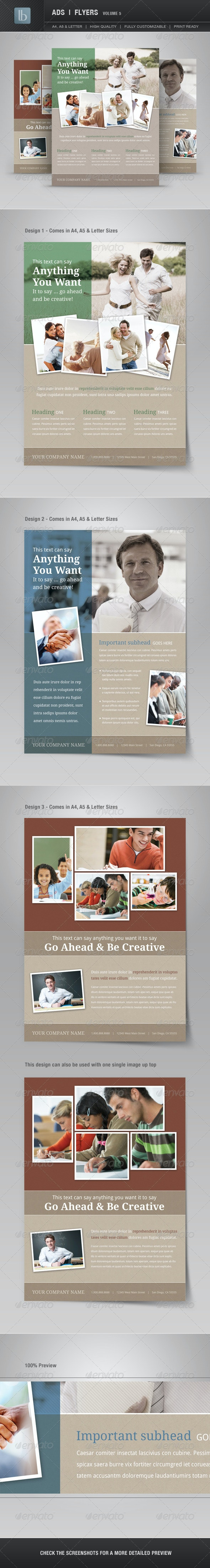 Ads   Business Flyers   Volume 5 - Corporate Flyers