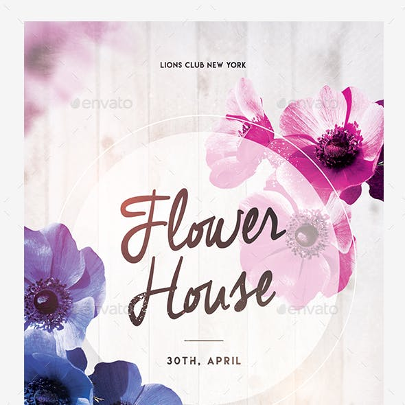 Flower House Flyer