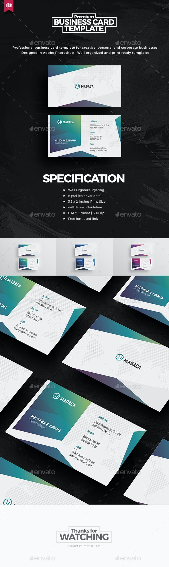 Creative - Pro Business Card v.4 - Creative Business Cards