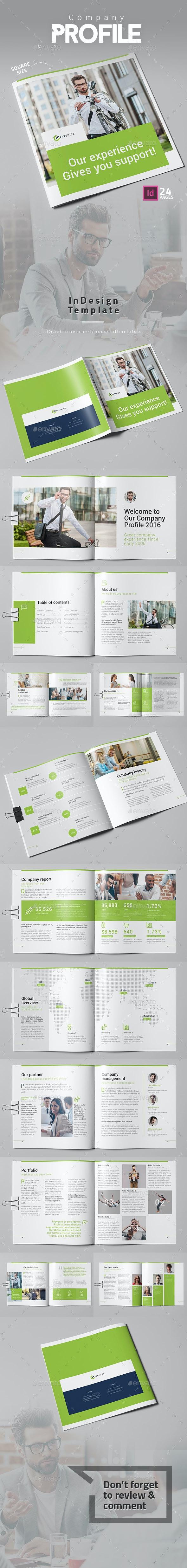 Company Profile Vol.2 Square - Corporate Brochures