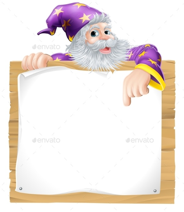 Wizard Character Sign - Miscellaneous Characters