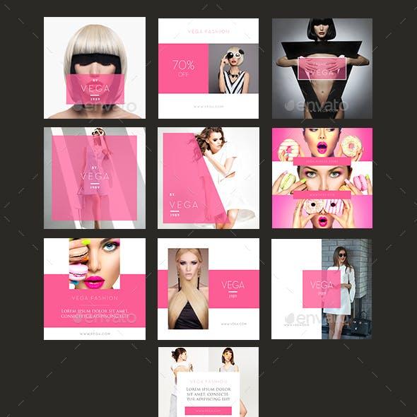 10 Luxury Brand Instagram Banner Template