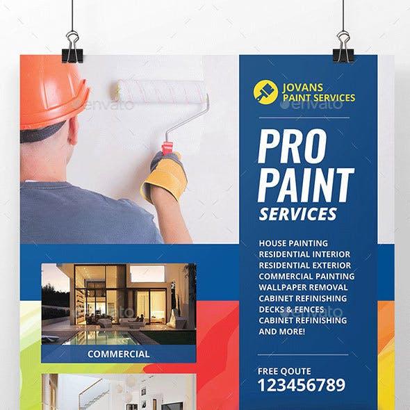 Paint Services Flyer