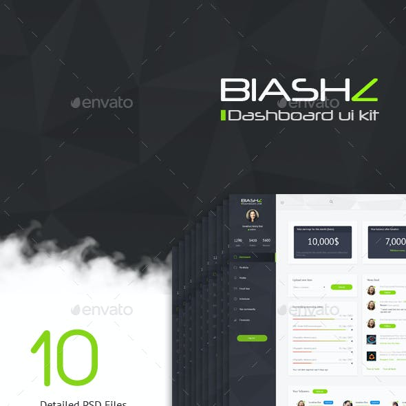 Blashz Dashboard UI Kit